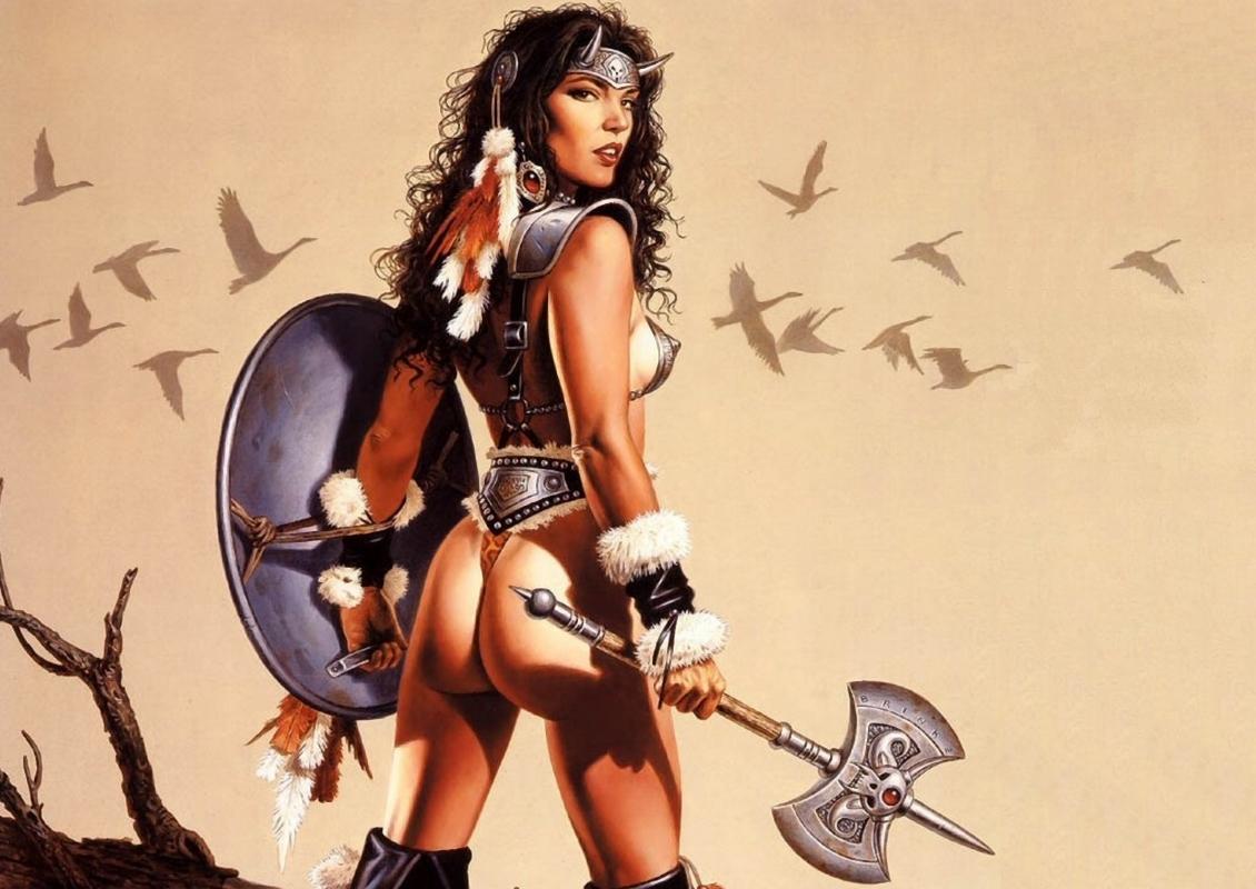 Femmes Amazone nue gratuitement